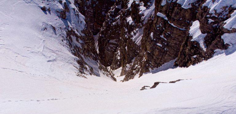 Ingresso canale graffer, vista dall'alto